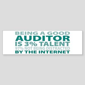 Good Auditor Bumper Sticker