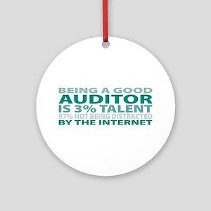 Good Auditor Ornament (Round)