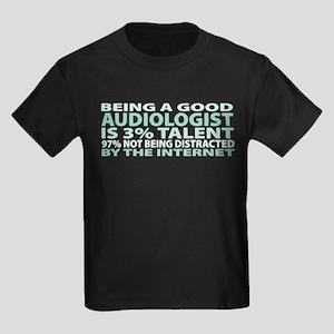 Good Audiologist Kids Dark T-Shirt
