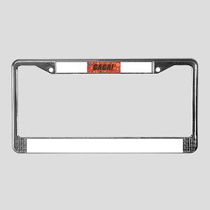 Funny GAGA License Plate Frame