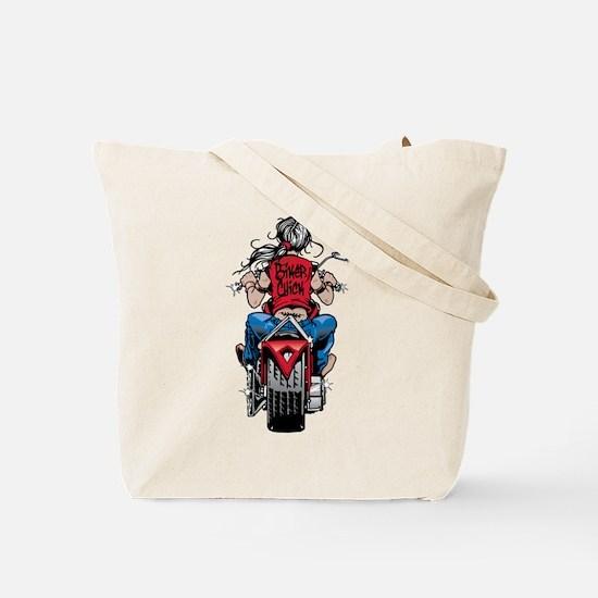 Biker Chick Tote Bag