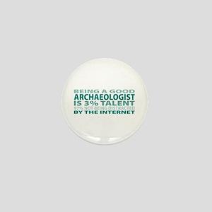 Good Archaeologist Mini Button