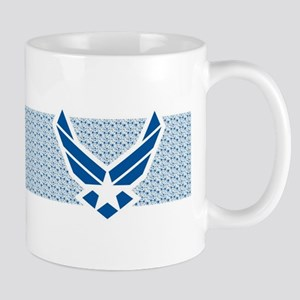 Air Force Logo Collage Mug