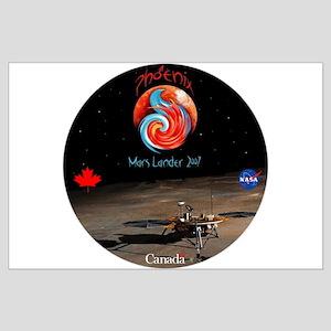 NASA Canada Phonenix Large Poster