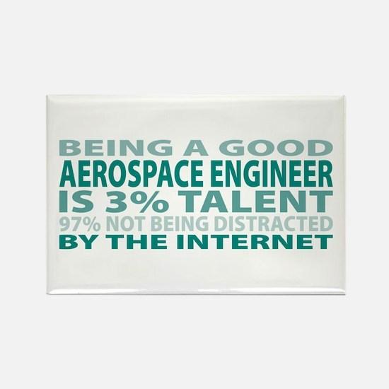 Good Aerospace Engineer Rectangle Magnet