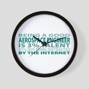 Good Aerospace Engineer Wall Clock