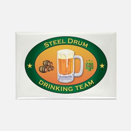 Steel Drum Team Rectangle Magnet