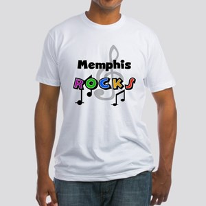 Memphis Rocks Fitted T-Shirt