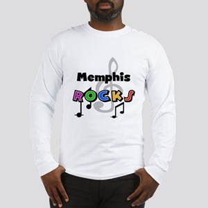 Memphis Rocks Long Sleeve T-Shirt