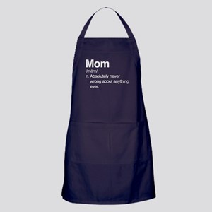 Mom Dark Apron (dark)