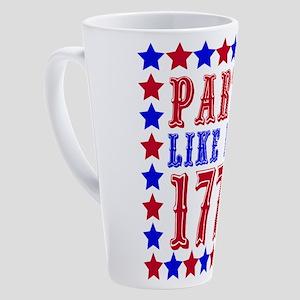 Party Like It's 1776 17 oz Latte Mug