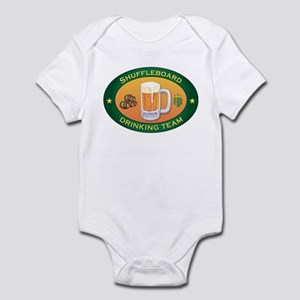 Shuffleboard Team Infant Bodysuit
