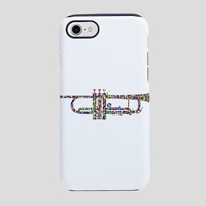 Rainbow Trumpet iPhone 8/7 Tough Case