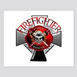 Firefighter Small Poster