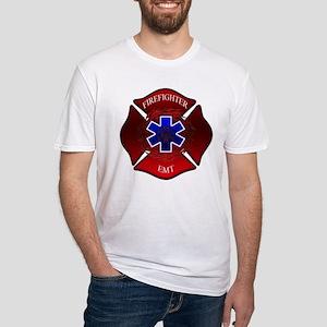 FIREFIGHTER-EMT Fitted T-Shirt