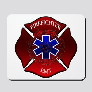 FIREFIGHTER-EMT Mousepad