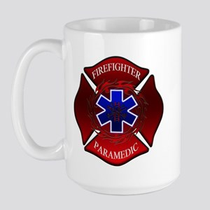 FIREFIGHTER-PARAMEDIC Large Mug