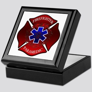 FIREFIGHTER-PARAMEDIC Keepsake Box