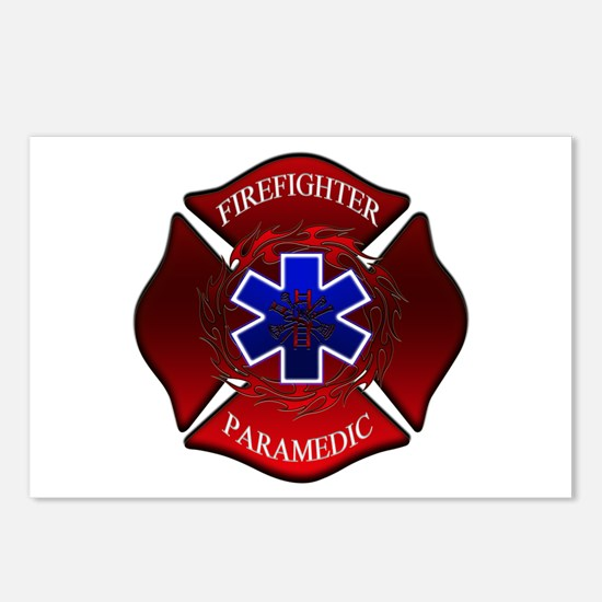 FIREFIGHTER-PARAMEDIC Postcards (Package of 8)