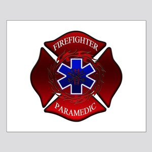 FIREFIGHTER-PARAMEDIC Small Poster