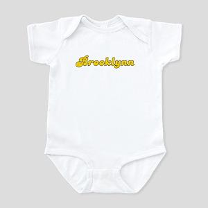 Retro Brooklynn (Gold) Infant Bodysuit