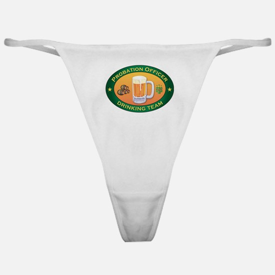 Probation Officer Team Classic Thong