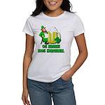 0% Irish 100% Drunk Women's T-Shirt