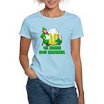 0% Irish 100% Drunk Women's Light T-Shirt