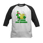 0% Irish 100% Drunk Kids Baseball Jersey
