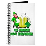 0% Irish 100% Drunk Journal