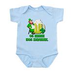 0% Irish 100% Drunk Infant Bodysuit