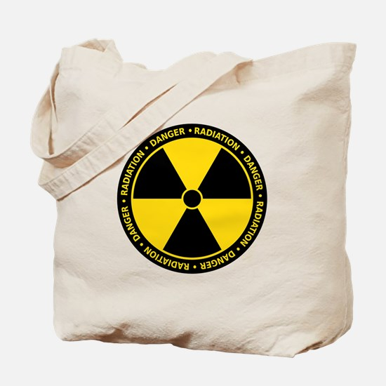 Radiation Warning Tote Bag