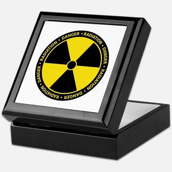 Radiation Warning Keepsake Box