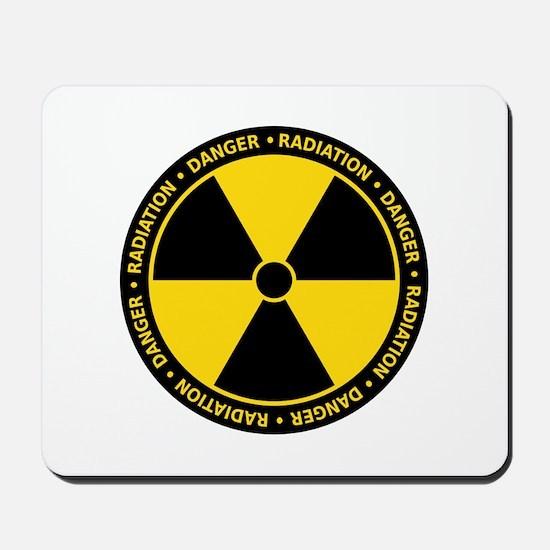 Radiation Warning Mousepad
