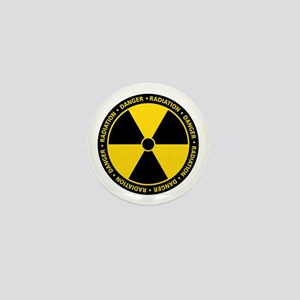 Radiation Warning Mini Button