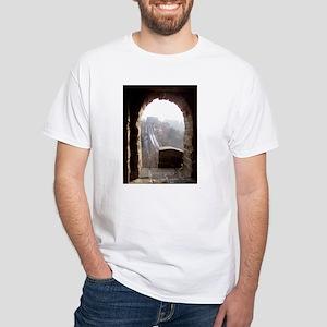 Great Wall of China White T-Shirt