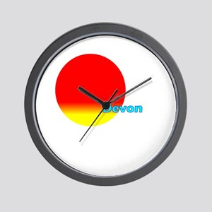 Devon Wall Clock