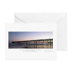 Ventura Pier Greeting Cards (Pk of 10)