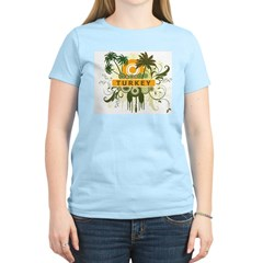 Palm Tree Turkey Women's Light T-Shirt