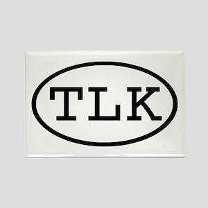 TLK Oval Rectangle Magnet