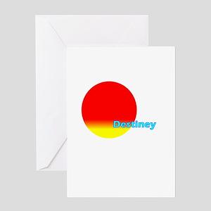Destiney Greeting Card