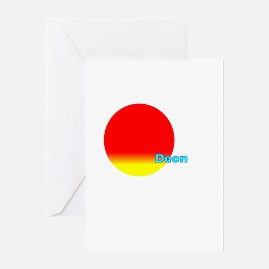 Deon Greeting Card