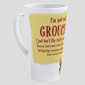 Grouchy Crab 17 Oz Latte Mug