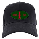 32nd infantry Baseball Cap with Patch