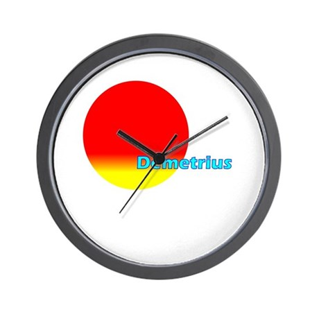 Demetrius Wall Clock