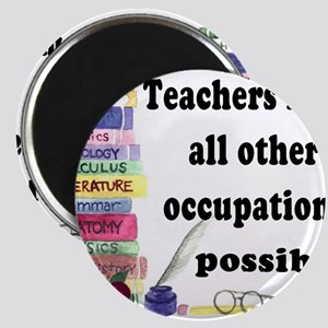 """Teacher Occupations"" Magnets"