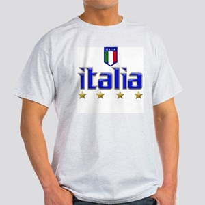 Italia t-shirts 4 Star Italia Soccer Light T-Shirt