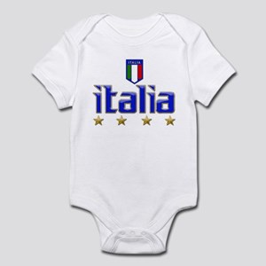 Italia 4 Star Italian Soccer Infant Bodysuit