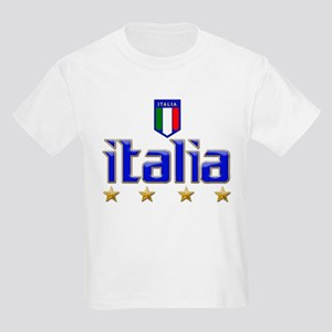 Italia t-shirts 4 Star Italia Soccer Kids Light T-