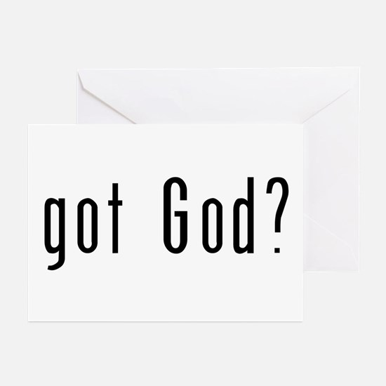 Got God? Greeting Cards (6)